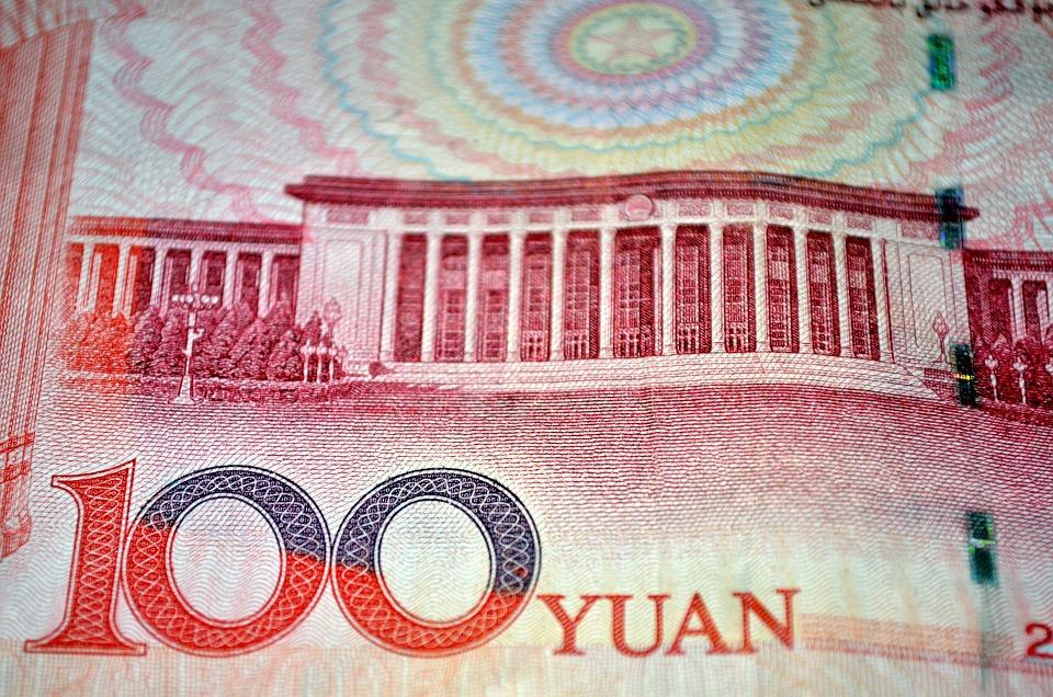 čínská bankovka