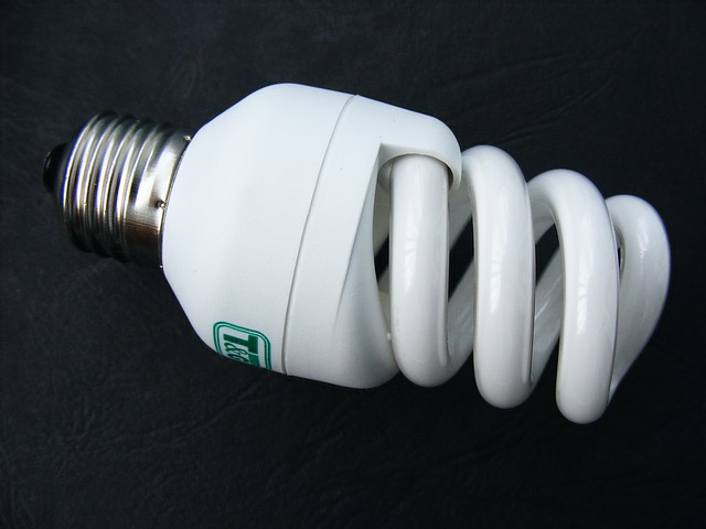 bílá žárovka