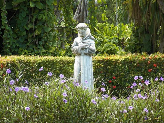socha svatého františka