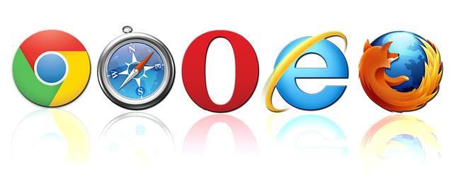 webové prohlížeče