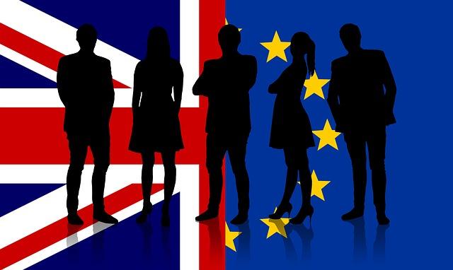 evropa a británie