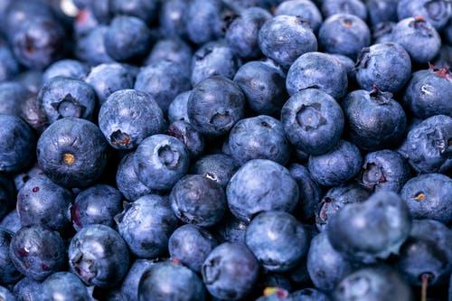modré borůvky