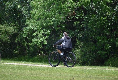 muž cyklo