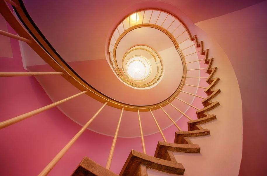 spirálové schodiště